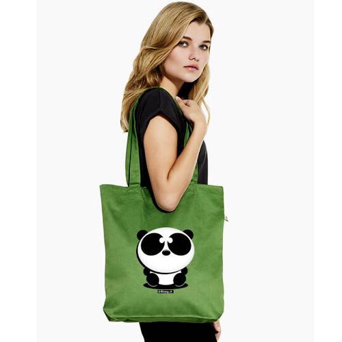 'Panda' Shopper Tote