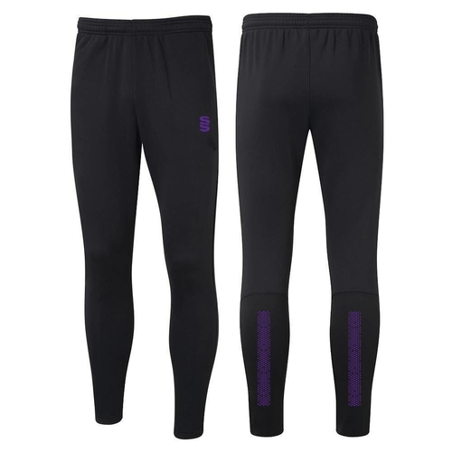 CWCC PERFORMANCE SKINNY PANT - BLACK/PURPLE