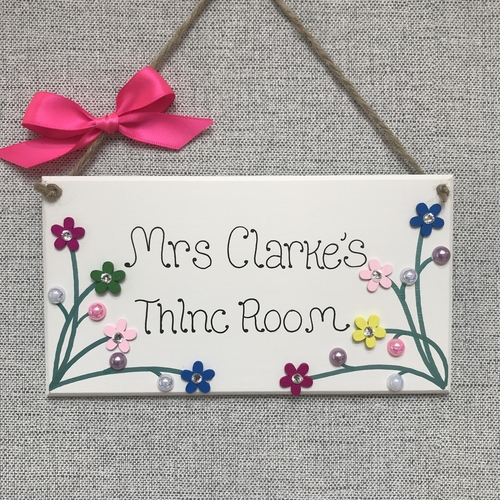 🌷Teacher's Door Plaque 🌷