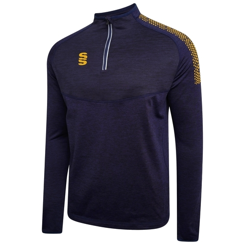 Seaton Burn CC Dual 1/4 Zip Performance Top