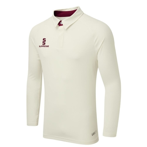 Wylam CC L/S Ergo Playing Shirt