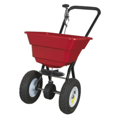 Broadcast Spreader 37kg Walk Behind - Sealey - SPB37W