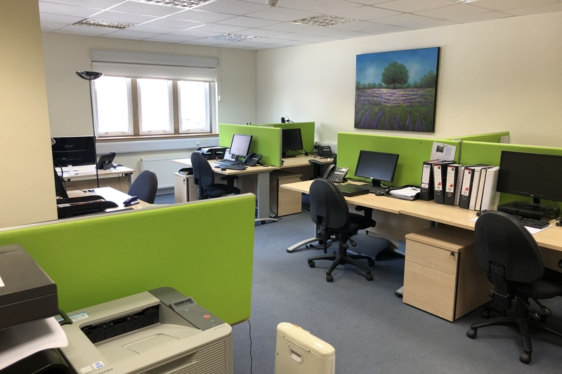 Modern Ground Floor Offices - Unit 7 North Leigh Business Park North Leigh Witney OX29 6SW - 1017 sq.ft. (94.40 sq) - To Let