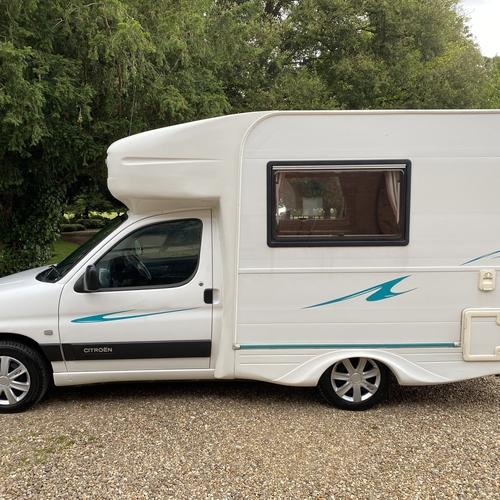 2002 Nu Venture Surf Camper Van Motorhome Citroen Berlingo 1.9D - 78694 Miles