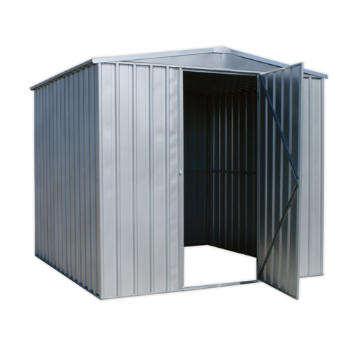 Galvanized Steel Shed 2.3 x 2.3 x 2m - Sealey - GSS2323