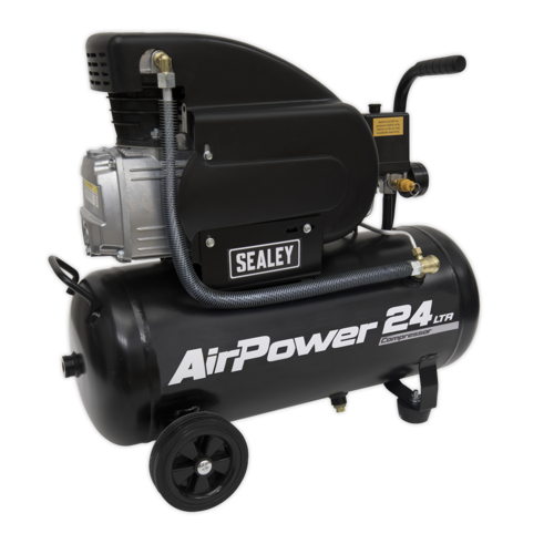 Compressor 24ltr Direct Drive 2hp - Sealey - SAC2420A