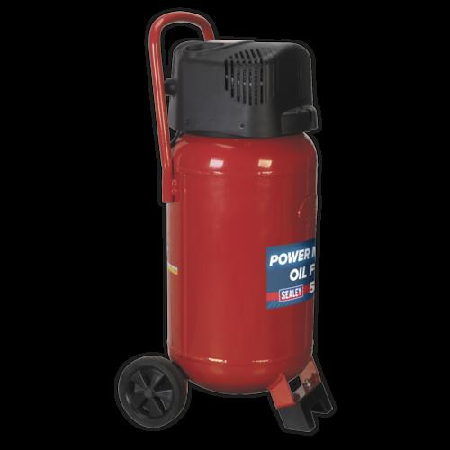 Compressor 50ltr Belt Drive 2hp Oil Free - Sealey - SAC05020