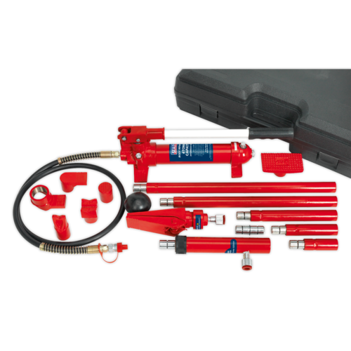 Hydraulic Body Repair Kit 4tonne Snap Type - Sealey - RE97/4