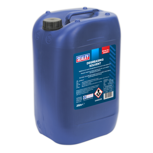 Degreasing Solvent 25ltr - Sealey - AK2501