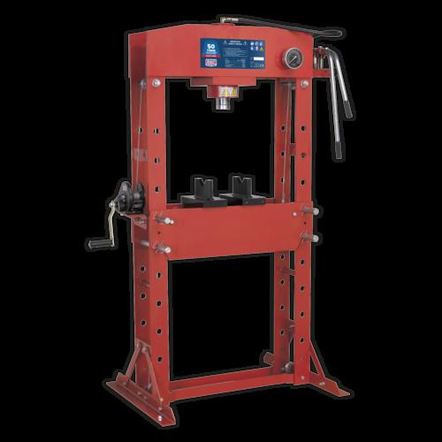 Hydraulic Press 50tonne Floor Type - Sealey - YK509F