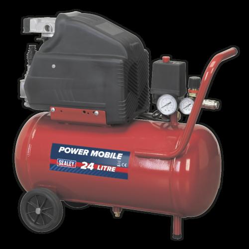 Compressor 24ltr Direct Drive 1.5hp - Sealey - SA2415
