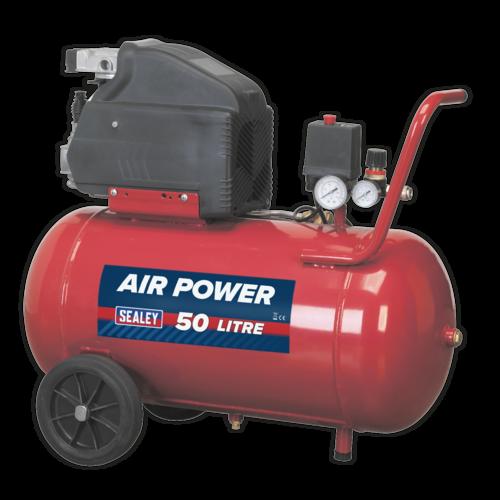 Compressor 50ltr Direct Drive 2hp - Sealey - SA5020