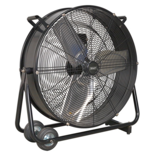 "Industrial High Velocity Drum Fan 24"" 230V - Sealey - HVD24"