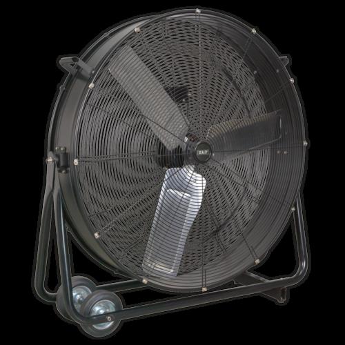 "Industrial High Velocity Drum Fan 36"" 230V - Sealey - HVD36"