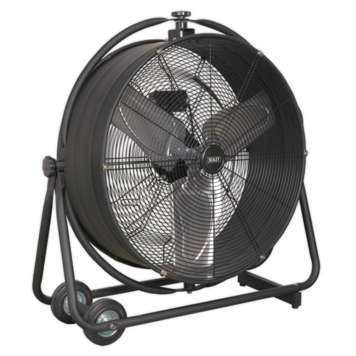 "Industrial High Velocity Orbital Drum Fan 24"" 230V - Sealey - HVF24S"