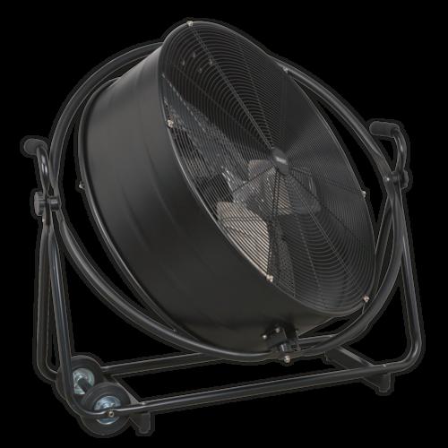"Industrial High Velocity Orbital Drum Fan 30"" 230V - Sealey - HVF30S"