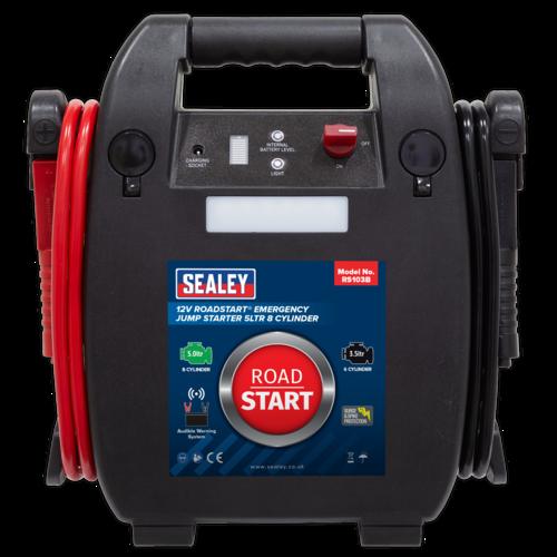 RoadStart Emergency Jump Starter 12V 5ltr 8 Cylinder - Sealey - RS103B