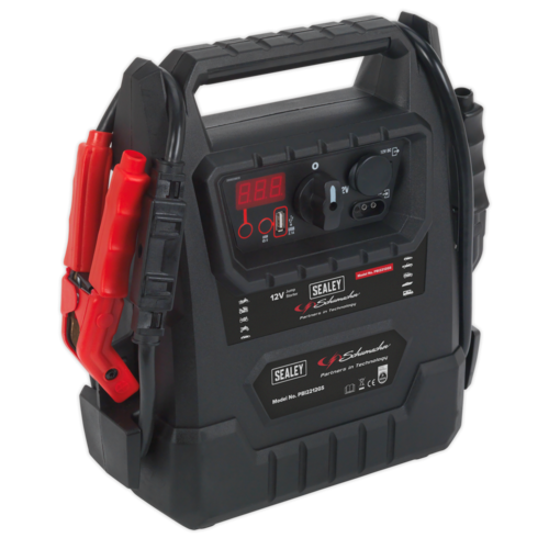 Schumacher® RoadStart® Emergency Jump Starter 12V 2300 Peak Amps - DEKRA Approved - Sealey - PBI2212GS