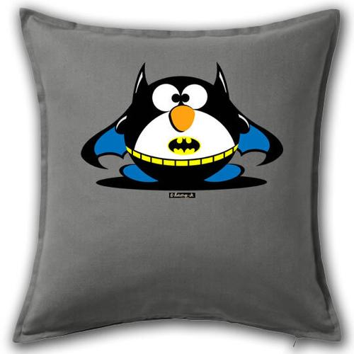'Bat Fat Penguin' Cushion