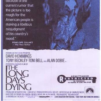 THE LONG DAYS DYING (1968) David Hemmings