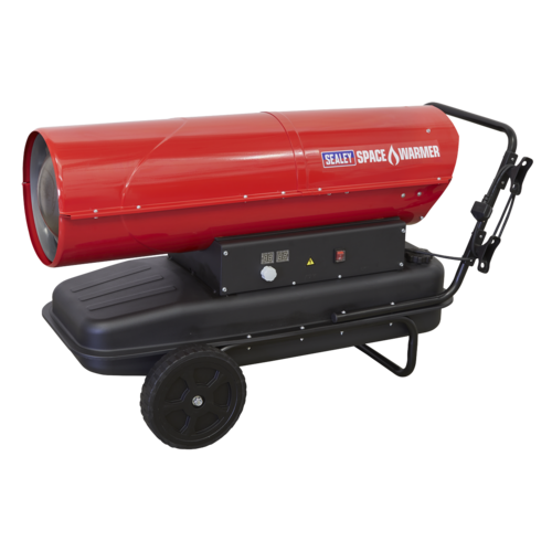 Space Warmer® Kerosene/Diesel Heater 340,000Btu/hr with Wheels - Sealey - AB3412