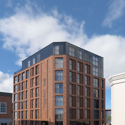 An image by Property and Invest Ltd of The Trippet Court development in Sheffield City Centre. Residential Development Sheffield Property and Invest Ltd Trippet Court
