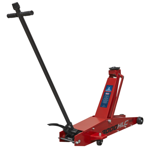 Trolley Jack 3tonne Long Reach High Lift Commercial - Sealey - 3000HLC