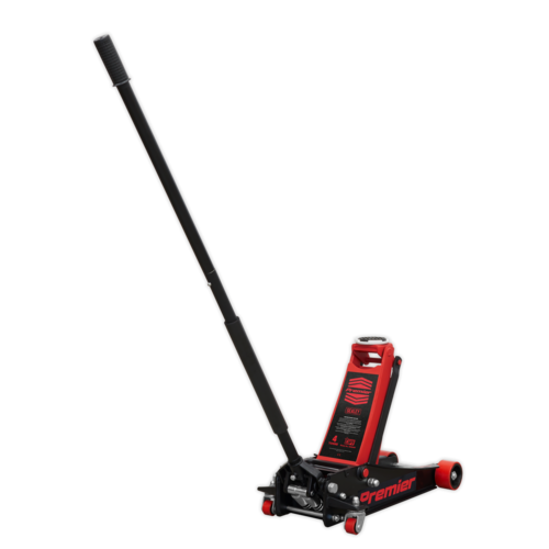 Trolley Jack 4tonne Rocket Lift Red - Sealey - 4040AR