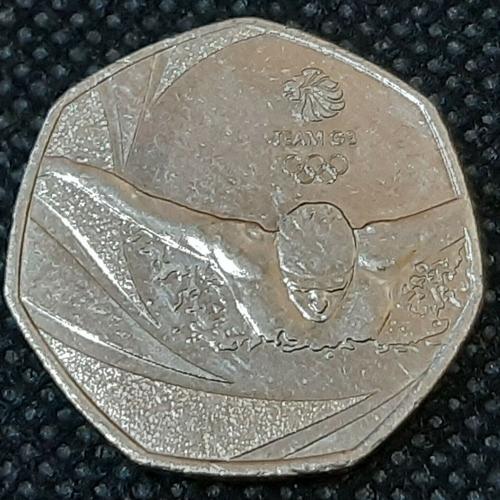 2016 Team GB 50p Coin