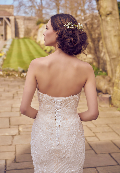 Can Wedding dresses be made smaller/taken in?