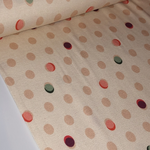 Dotty About You Viscose Jersey 1.29m Remnant