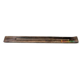 Jumbo Flat Wood Incense Stick Holder