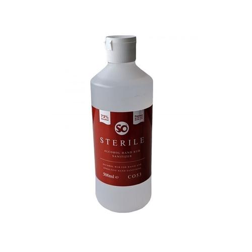 Sterile Alcohol Hand Rub Sanitizer