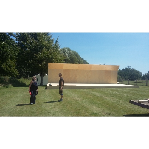 Glyndebourne Opera house outdoor stage