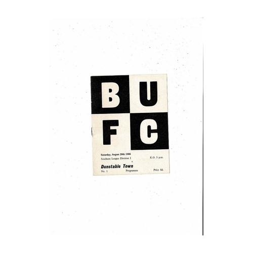 Bexley United Home Football Programmes