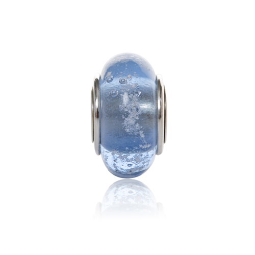 Sky Cremation Glass Charm Bead