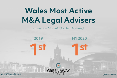 Greenaway Scott Named as Most Active M&A Legal Team