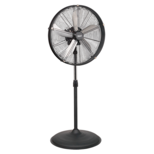 "Industrial High Velocity Oscillating Pedestal Fan 20"" 230V - Sealey - HVF20PO"