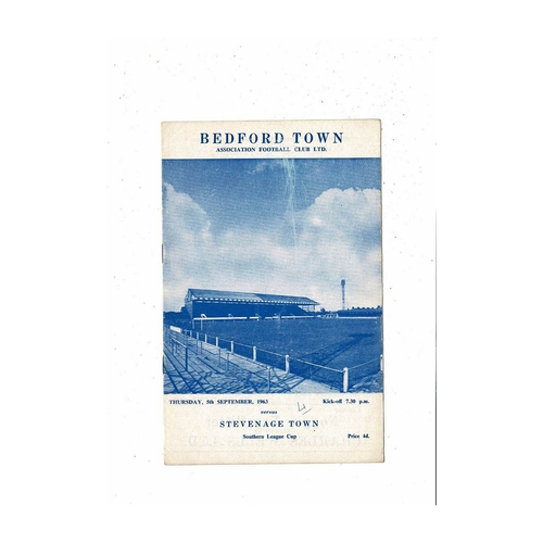 Bedford Town Home Football Programmes