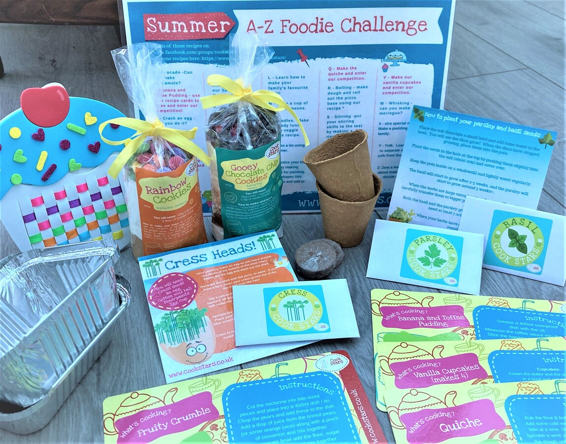 Summer Bundle - Cook, Create and Grow Kits