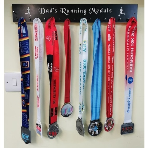 Medal holder / rack wall mounted
