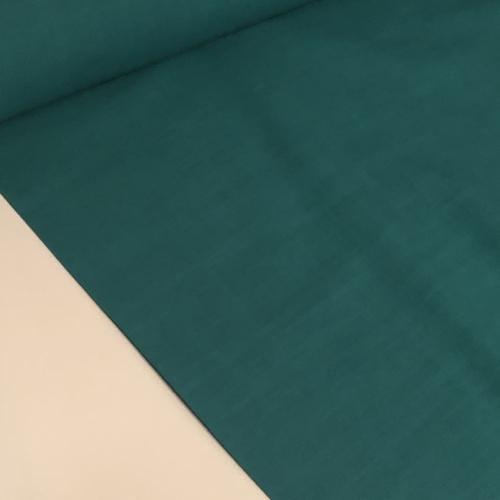 Teal Linen Look Cotton 1.1m Remnant