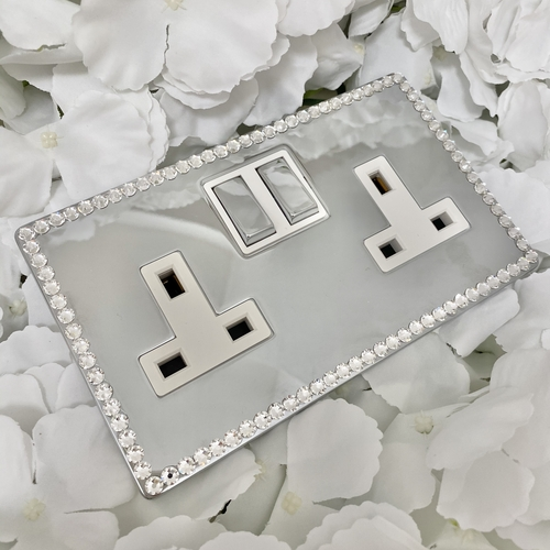 Crystal Light Switch Made with SWAROVSKI ELEMENTS