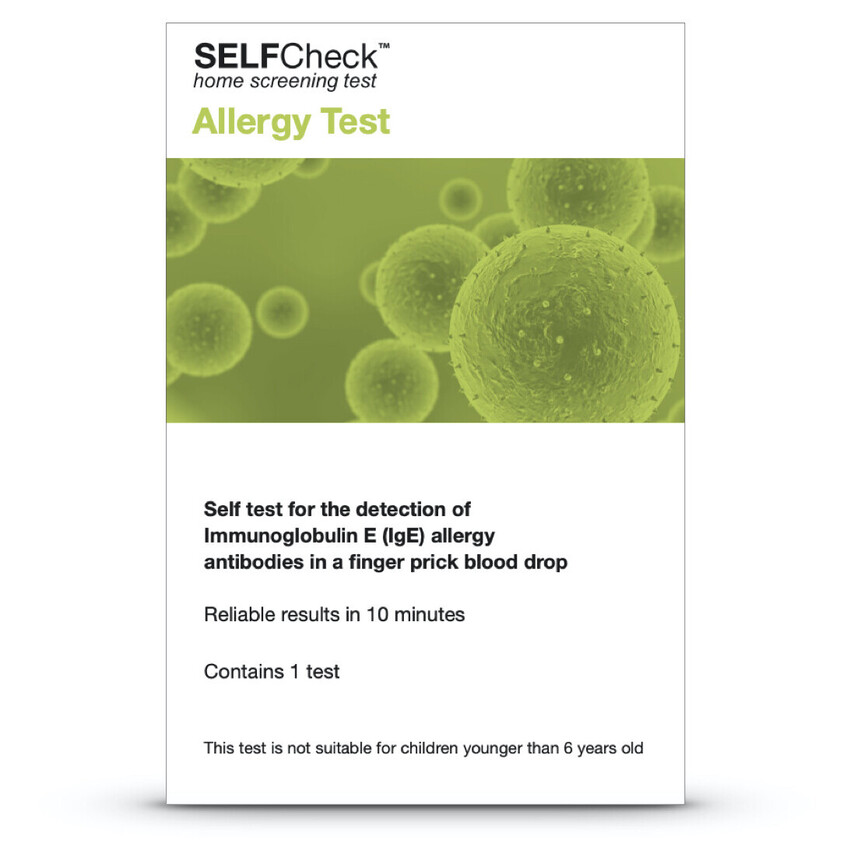 SELFCheck Allergy Test Kit