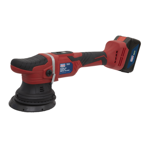Cordless Orbital Polisher Ø125mm 18V Li-ion - Sealey - CP18VOP