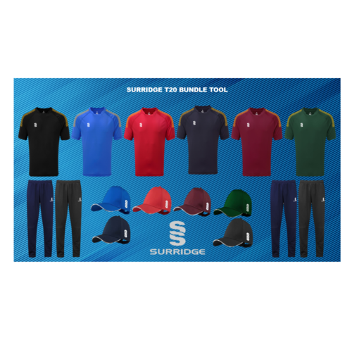 Surridge Black T20 Kit Builder