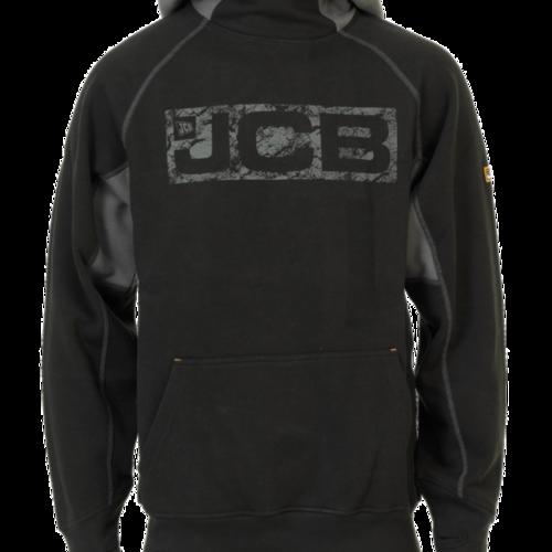 Horton Hoodie (Black and Grey) - JCB Workwear - D-WJ
