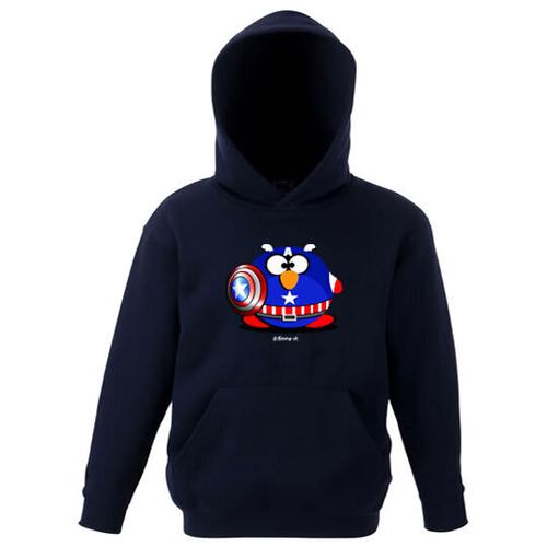 'Captain Fat Penguin' Hoodie