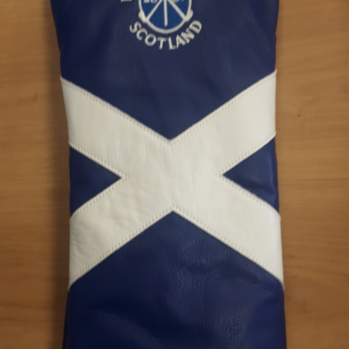 Nairn Golf Club Saltire AM&E Driver headcover
