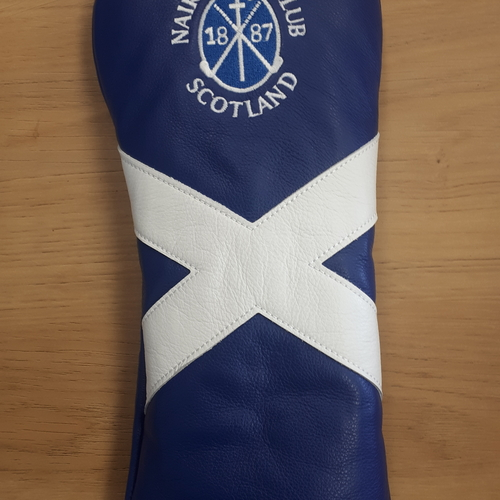 Nairn Golf Club Saltire AM&E Fairway headcover